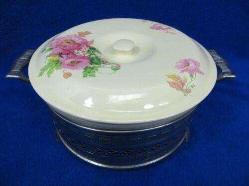 Pretty Vintage Bak-Serv Casserole Serving Dish P.C.P. Co