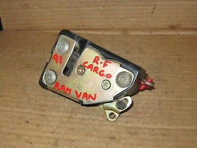 1991 - 1993 Dodge Ram Van Right Forward Side Load Cargo Door Latch *READ*