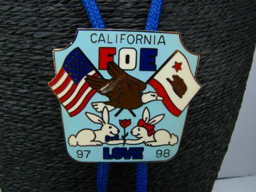 FOE BOLO Love 97-98 FRATERNAL ORDER OF EAGLES California  F.O.E. ORDER