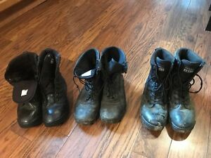 Worn Army Boots