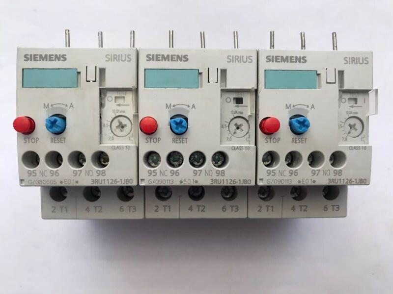 Siemens Sirius Overload Relays 3RU1126-1JBO Qty 3