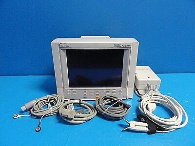 Datascope Passport Xg Nibp Ekg Spo2 Temp Print Patient Monitor W Leads14683