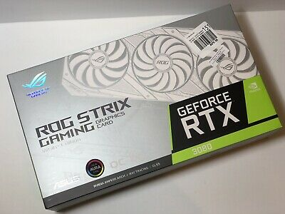 ASUS ROG Strix RTX 3080 OC 10GB GDDR6X Graphics Card - WHITE Limited Edition