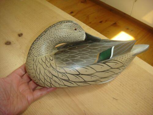 "Beautiful Duck Decoy By William ""Bill"" Goenne King City CA"