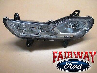 13 thru 16 Escape OEM Genuine Ford Fog/Park/Turn Signal Lamp Light LH Driver (Fog Park Turn Signal Light)