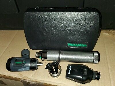 Welch Allyn Diagnostic Set 13141 Macroview Otosco 23810 Ophthalmoscope 11710