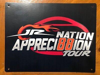 Tin Sign Vintage JR Nation Appreci88ion Tour