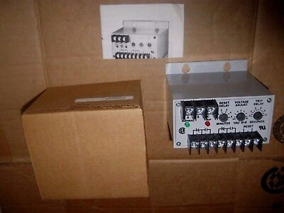 Time Mark 3-phase Power Monitor 208 240 Vac 160-260 V Model B2652 New In Box