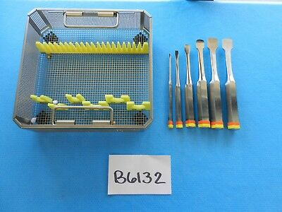 Zimmer Surgical Orthopedic Key Periosteal Elevator Set W Case