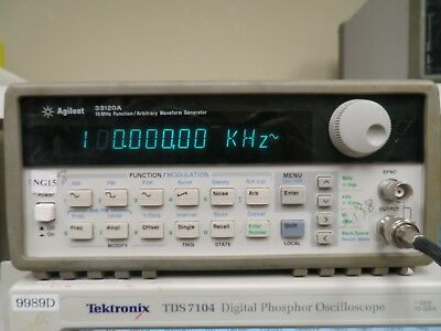 Agilent 33120a 15 Mhz Function Arbitrary Waveform Generator Ng15
