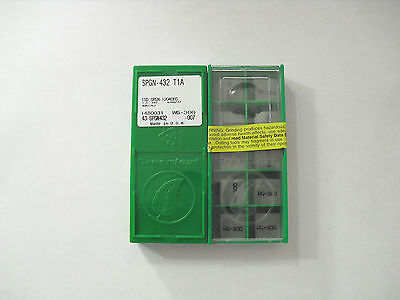 SPGN 432 T1A WG-300 Greenleaf Insert **10PCS**