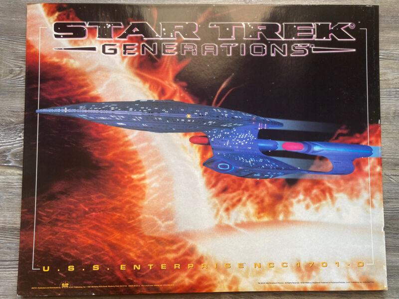 star trek generations poster