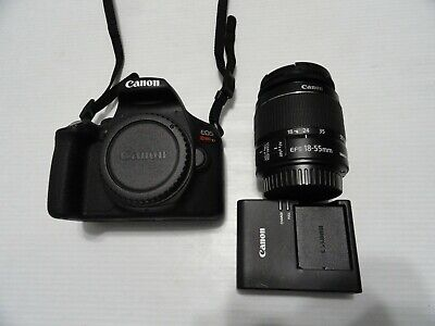Rate 9.9/10 Canon EOS Rebel T7 24.1MP Digital Camera-Blk with 18-55 F5.6 is Lens