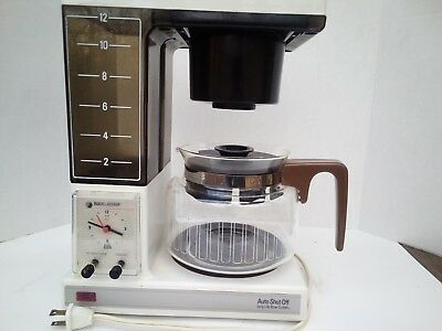 Vintage Black & Decker CoffeeMatic 12 Cups Coffee Maker DCM150  Used Clean OgPot