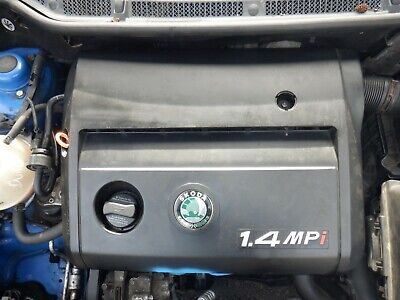 SKODA FABIA 6Y 99 - 07  1.4 PETROL AQW ENGINE TESTED AND RUNS *ONLY 58,753k*