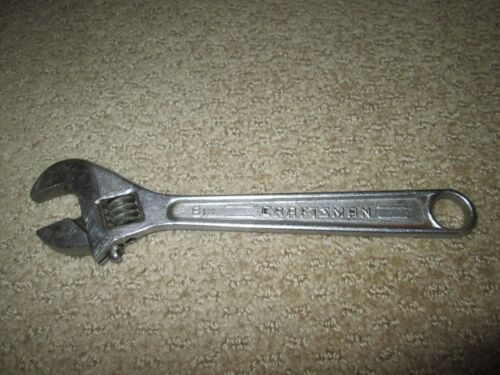 """Craftsman USA 8"""" 200mm Crescent Forged Adjustable Wrench."""