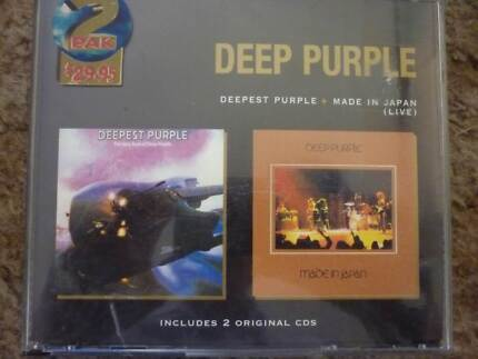Deep Purple 2 CD set - Deepest Purple & Made In Japan (live) Panorama Mitcham Area Preview