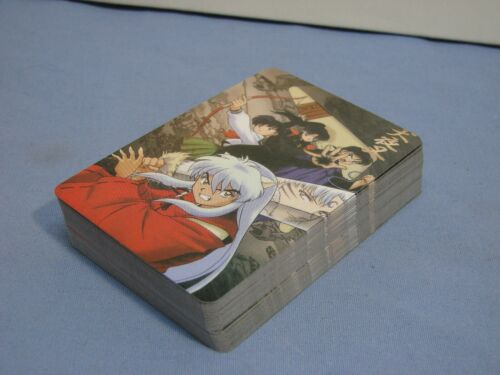 Inuyasha Anime Playing Cards Full Deck RARE Japanese Cartoon Collectible L@@K