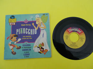DISCO-VINILE-45-039-039-PINOCCHIO-FIABE