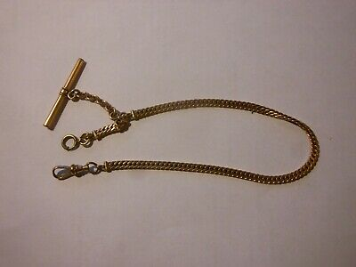Pocket Watch Chain Simmons Albert T-Bar Vintage/Antique