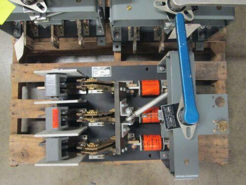 Xd-8433-6a2 800a 3p 600v Bolt Loc Switch Used E-ok