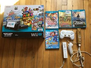 Wii U  with Zelda package