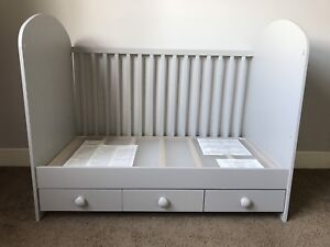 Ikea 3in1 Crib/Daybed