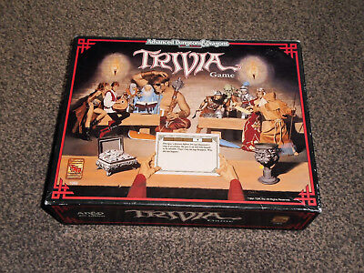 ADVANCED DUNGEONS & DRAGONS : 1991 2nd EDITION TRIVIA GAME - NEW (FREE UK P&P)