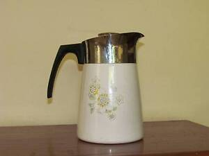 Corningware Coffee Purcolator,  Tea Pot and 2 Casserole Dishes Woollahra Eastern Suburbs Preview