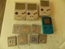3 x game bos and 1 gameboy color pluss 7 games no discount Girrawheen Wanneroo Area Preview