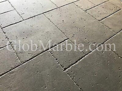 Concrete Stamp Mat Set. 4 Concrete Stamps. Travertine Stone Stamps Sm 6000