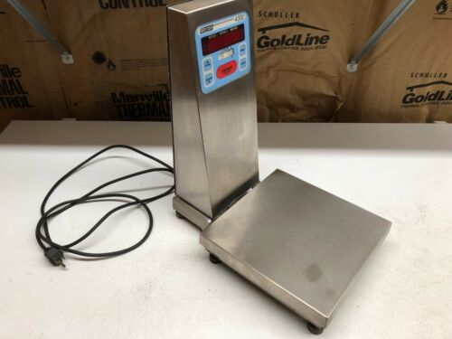 DORAN 10LB * 0.001 LB 4300 SERIES  STAINLESS STEEL CHECKWEIGHER  SCALE  21P