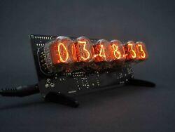 IN-12 Nixie Tube Clock DIY KIT. Without Tubes.