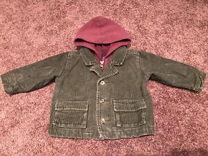 Corduroy jacket 6-12 months