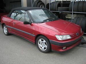 1995 Peugeot 306 Convertible Fawkner Moreland Area Preview