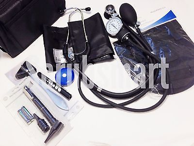 New! 9 Piece Nurse Student Kit 2 -Sprague Rappaport Stethoscope BP Set + more! on Rummage