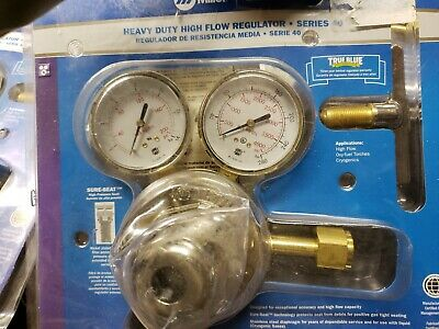 Miller Heavy Duty High Flow Regulator Series 40 Oxygen Regulator