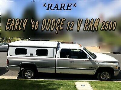 1998 Dodge Ram 2500 SLT Rare Early-1998 model year 12V 5.9L 2WD Cummins Turbo Diesel Dodge Ram 2500