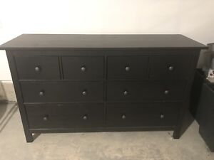 Chocolate brown dresser
