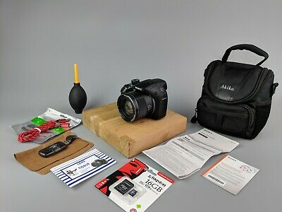 Sony Cyber-shot DSC-H400 20.1MP Digital Camera + Bag +16GB SD + Accessories!