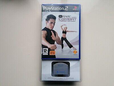 Eye Toy Kinetic Combat para Playstation 2. Precintado, nuevo. Camara