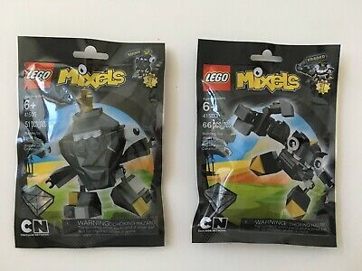 New, Sealed, Retired - Lego Mixels Series 1 Shuff and Krader (41505 and 41503)