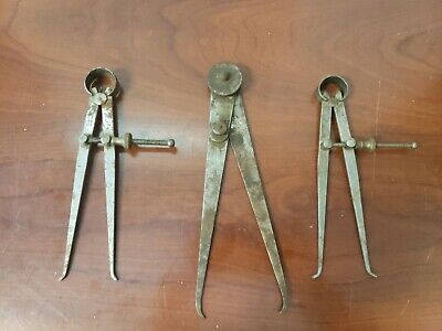 Vintage Inside Caliper And Divider Set C-x