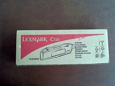 - Lexmark C720 Oil Bottle 15W0906 Brand New In Box!