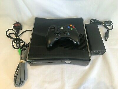 Microsoft Xbox 360 Slim 250GB Black Console FAMILY PASSWORD