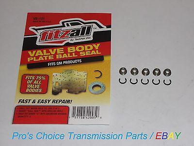 Gm 4L60e 4L65e 4L70e Valve Body Separator Plate Ball Seat Repair    5 Piece Kit