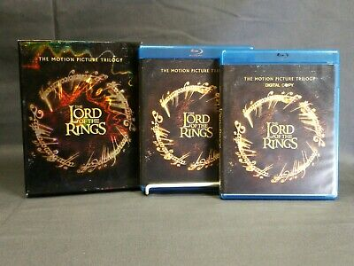 The Lord of the Rings The Motion Picture Trilogy Blu-ray 9 Disc 2014