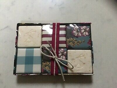 Joules Gift Set Of Six Hand Soaps Brand New