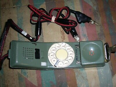 Vintage Green Northern Telecom Lineman Test Rotary Phone Handset