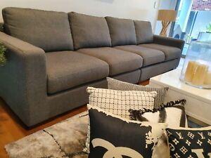 Freedom Signature 4 seat sofa as NEW